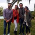 """Romain, Cassandre, Pascal et Laureen - """"Koh-Lanta 2016""""."""