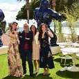 """Miriam Leone, Marco Bellocchio, Bérénice Béjo, Barbara Ronchi - Photocall du film """"Fais de beaux rêves"""" sur la terrasse de la Suite Sandra & Co lors du 69ème Festival International du Film de Cannes. Le 12 mai 2016"""