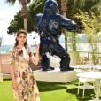 """Miriam Leone - Photocall du film """"Fais de beaux rêves"""" sur la terrasse de la Suite Sandra & Co lors du 69ème Festival International du Film de Cannes. Le 12 mai 2016"""