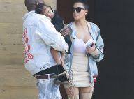 Kim Kardashian et Kanye West : Journée en famille avec North, et avec style