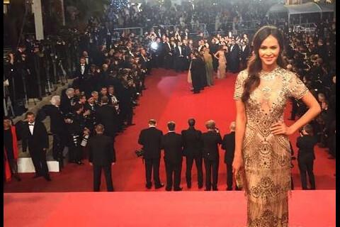 Leila Ben Khalifa sublime pour sa première montée des marches à Cannes