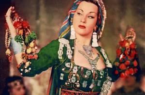 La géniale chanteuse Yma Sumac est morte...