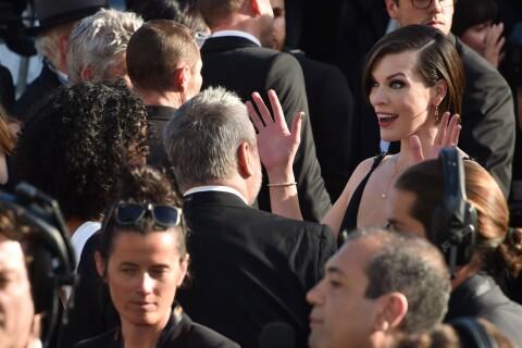 Cannes 2016 : Milla Jovovich, beauté chaleureuse avec son ex-mari Luc Besson
