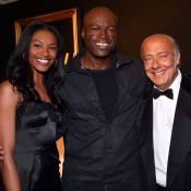 "Seal : Star d'un showcase privé ""De Grisogono"" devant la bombe Sharam Diniz"