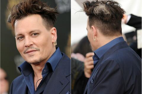 Johnny Depp: Son étrange coiffure face à Anne Hathaway, maman au top et pulpeuse