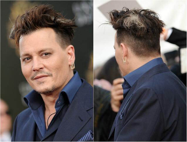 Johnny Depp Son étrange coiffure face à Anne Hathaway, maman au top et  pulpeuse