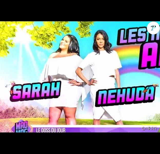 """Sarah Fraisou et Nehuda meilleures amies du monde dans """"Les Anges 8"""""""