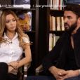 """Nabilla et Thomas évoquent le fait d'avoir """"snapchaté"""" leur procès. Emission """"50 min inside"""" sur TF1. Le 28 mai 2016."""