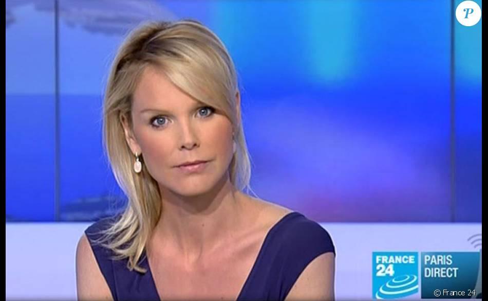 Vanessa burggraf journaliste de france 24 purepeople - Journaliste femme france 2 ...