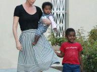Charlize Theron : Au naturel avec ses deux enfants