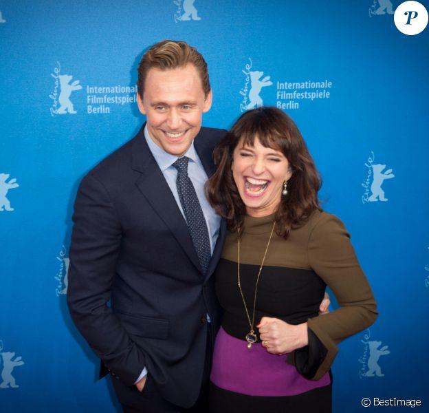 """Tom Hiddleston, Susanne Bier - Avant-première du film """"The Night Manager"""" lors du 66e Festival International du Film de Berlin, la Berlinale, le 18 février 2016."""