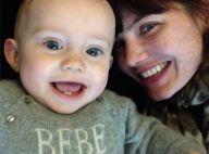 Delphine Chanéac : Ethan, 8 mois, a déjà les yeux de sa maman !