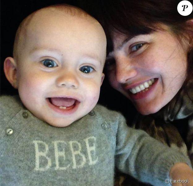 Delphine Chanéac : son petit Ethan a bien grandi