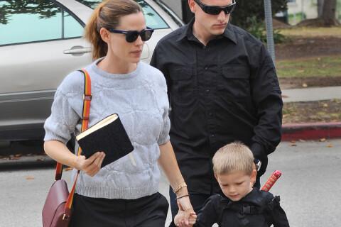 Jennifer Garner : Son fils Samuel déguisé en ninja pour aller... à l'église !