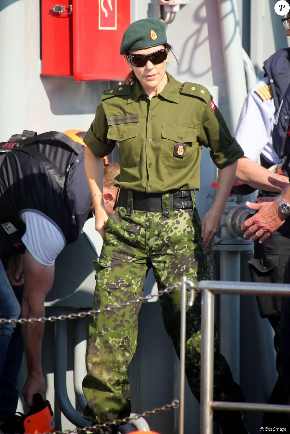 La princesse Mary de Danemark a participé aux exercices de la Home Guard danoise lors du premier week-end du mois de juin 2016 ainsi qu'à la parade finale le dimanche 5, à Fredericia.