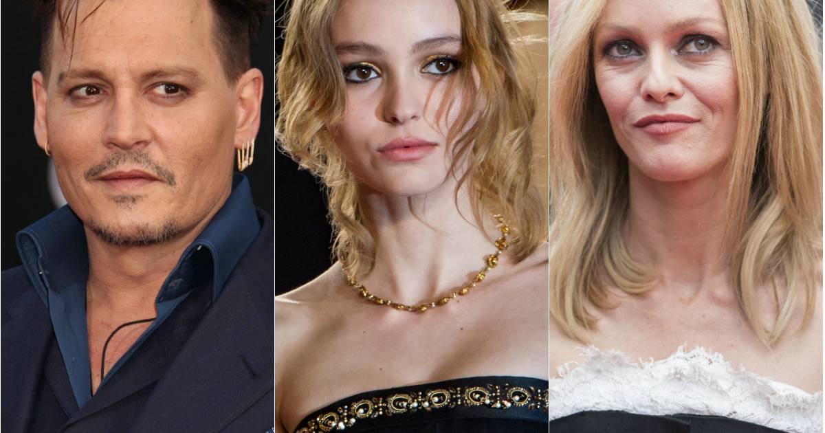 Lily-Rose Depp, Vaness... Vanessa Paradis Facebook