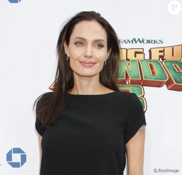 """Angelina Jolie - Célébrités lors la première de Kung Fu Panda 3 au théâtre """"TCL Chinese"""" de Hollywood le 16 janvier 2016"""