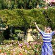 Rendez-vous avec Marilou Berry à la Roseraie Princesse Grace lors du 56ème Festival de télévision de Monte-Carlo, le 13 juin 2016. © Pool Festival TV Monaco/Bestimage