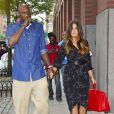 Lamar Odom et Khloé Kardashian à New York, le 20 juin 2012