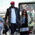Lamar Odom et Khloé Kardashian à l'aéroport de JFK New York, le 19 juin 2012
