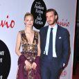 """Beatrice Borromeo et son mari Pierre Casiraghi à la soirée """"Convivio"""" à Milan, le 7 juin 2016."""