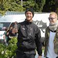 """Pierre Casiraghi participe à la première régate de la saison pour le """"GC32 Racing Tour"""" avec le voilier Malizia. Sa femme Béatrice Borromeo est venue l'encourager à Riva del Garda en Italie le 26 mai 2016."""