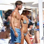 Izabel Goulart et Kevin Trapp : Canons, câlins et torrides à Ibiza