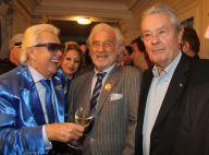 Michou : Entouré de Jean-Paul Belmondo et d'Alain Delon pour une fête arrosée