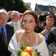 """Exclusif - Mariage religieux de Thierry Olive et Annie de """"L'amour est dans le pré"""". Eglise de Gavray. Le 14 septembre 2012."""