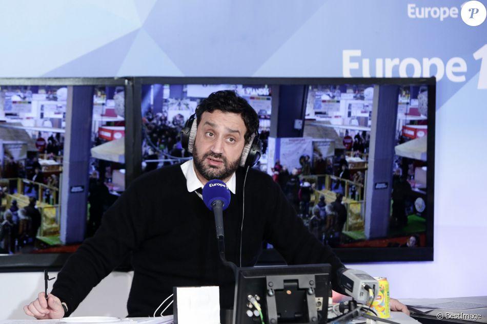 Cyril hanouna sur le plateau de la radio europe 1 en direct du salon international de l - Le salon de l agriculture en direct ...