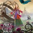 Affiche-personnage d'Alice de l'autre côté du miroir.