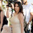 """Kim Kardashian à l'avant-première du clip """"Famous"""" de Kanye West au Forum à Inglewood, le 24 juin, 2016."""