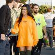"""Kourtney Kardashian à l'avant-première du clip """"Famous"""" de Kanye West au Forum à Inglewood, le 24 juin, 2016."""