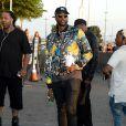 """2 Chainz à l'avant-première du clip """"Famous"""" de Kanye West au Forum à Inglewood, le 24 juin, 2016."""