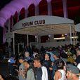 """Avant-première du clip """"Famous"""" de Kanye West au Forum à Inglewood, le 24 juin, 2016."""