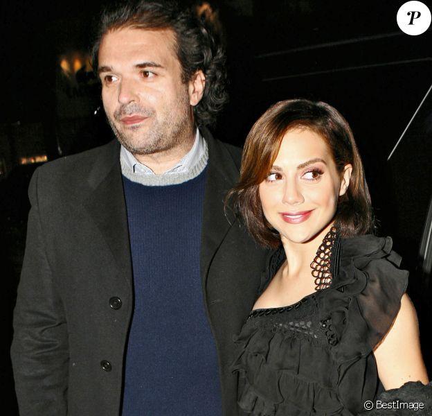 Brittany Murphy et son époux Simon Monjack à Los Angeles le 6 novembre 2007