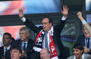 Euro 2016 : François Hollande et les wags aux anges pour Griezmann et les Bleus