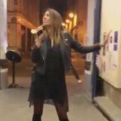 Laury Thilleman : La Miss se filme et se prend pour Céline Dion !