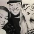 Blac Chyna et son fiancé Rob Kardashian à la soirée d'anniversaire de Khloé Kardashian. Photo publiée sur Instagram, le 28 juin 2016