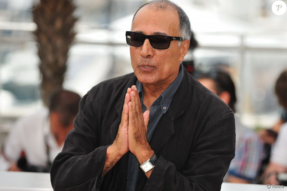 Abbas Kiarostami à Cannes, le 18 mai 2010.