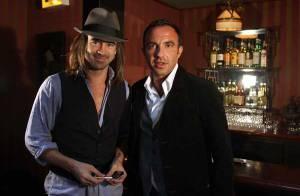 REPORTAGE PHOTOS : Colin Farrell et Nikos, une super rencontre à l'hôtel Costes !