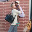 Exclusif - Charlize Theron est allée déjeuner avec ses enfants Jackson et August, le 5 juillet 2016