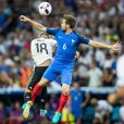 Yohan Cabaye et Toni Kross - France - Allemagne au Stade Vélodrome. Marseille, le 7 juillet 2016.