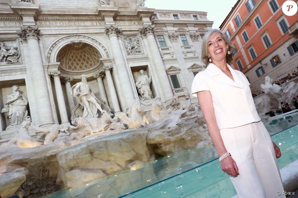La ministre italienne de l  039 Éducation Stefania Giannini - Défilé   quot Legends 6b99dc97f5c