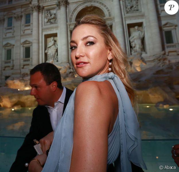 Kate Hudson attending the Fendi Roma 90 Years Anniversary fashion show at Fontana di Trevi on July 7, 2016 in Rome, Italy. Photo by Stefano Colarieti /La Presse/ABACAPRESS.COM08/07/2016 - Rome