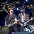 """Concert des """"Hollywood Vampires"""" au parc d'attractions """"Gröna Lund"""" à Stockholm en Suède le 30 mai 2016."""