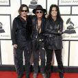 Johnny Depp, Joe Perry, Alice Cooper - La 58ème soirée annuelle des Grammy Awards au Staples Center à Los Angeles, le 15 février 2016