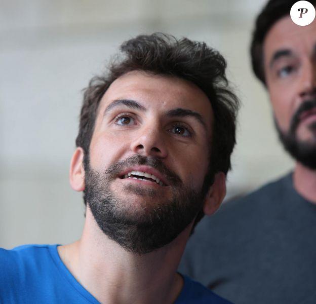 """Laurent Ournac dans le """"Fort Boyard"""" diffusé le 16 juillet 2016, sur France 2"""