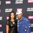 Timbaland et sa femme Monique Idlett - VH1 Hip Hop Honors 2016 au David Geffen Hall, au Lincoln Center. New York, le 11 juillet 2016.