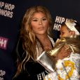 Lil' Kim et son fils Royal Reign à la première de VH1 Hip Hop à New York, le 11 juillet 2016 © Bruce Cotler/Globe Photos via Bestimage11/07/2016 - New York